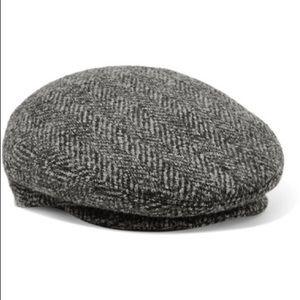 Isabel Marant Tweed Baker Boy Cap